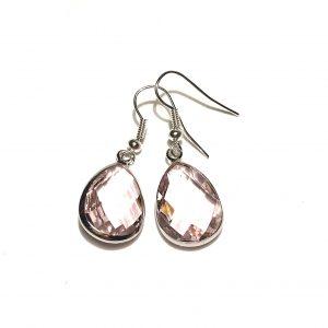 rosa-ørepynt-øredobber-øreanheng