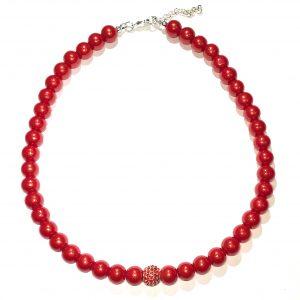 rødt-smykke-perle-halskjede