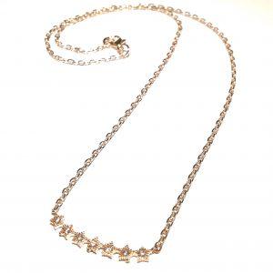 søtt-gull-stjerne-smykke-halskjede