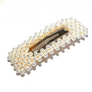 perle-hårspenne