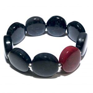 rødt-sort-armbånd