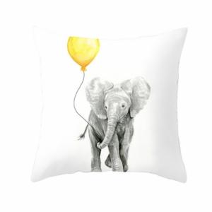 barn-pute-putetrekk-pyntepute-elefant-gul
