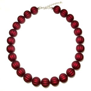 rød-smykke-perle-halskjede