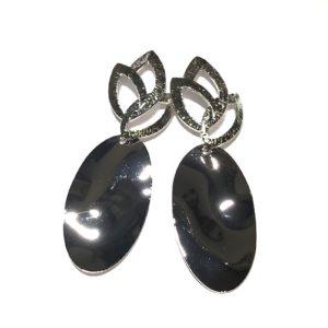 blad-sølv-øreanheng-ørepynt