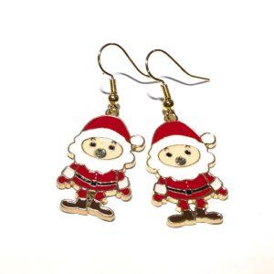 julenisse-ørepynt-øredobber-øreanheng