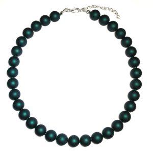 grønn-perle-smykke-halskjede