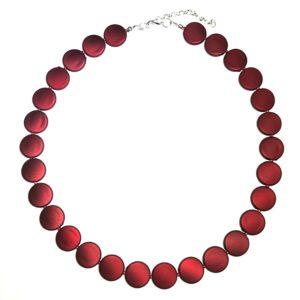 rød-matt-smykke-halskjede