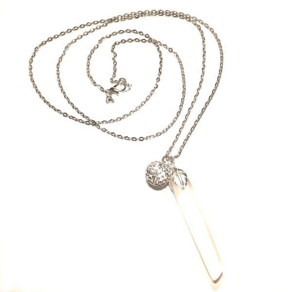 hvit-smykke-halskjede