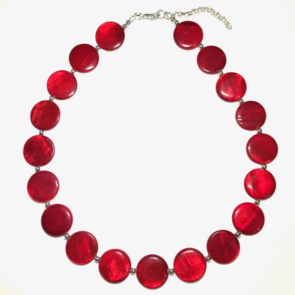 rød-smykke