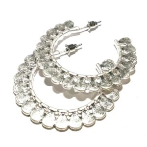 matt-sølv-øreringer