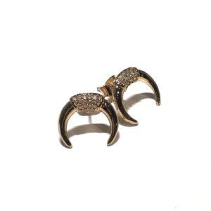 gull-horn-måne-øredobber-ørepynt