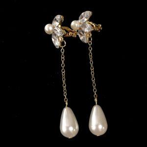 perle-klips-ørepynt-øredobber-øreanheng
