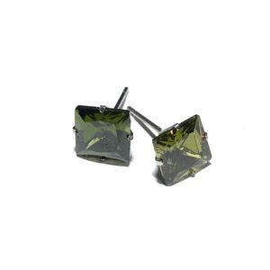 grønn-cirkonia-zirconia-ørestikk-øredobber-ørepynt