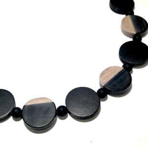tre-sort-tøff-smykke-halskjede