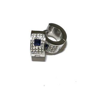 stål-nikkelfri-ørering-blå