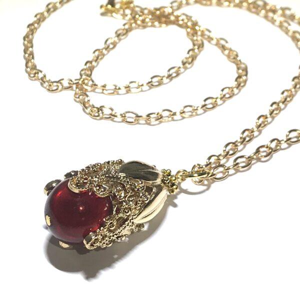 rød-gull-smykke-halskjede